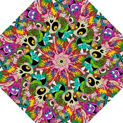 Crazy Illustrations & Funky Monster Pattern Straight Umbrellas by BangZart