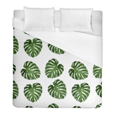 Leaf Pattern Seamless Background Duvet Cover (full/ Double Size)