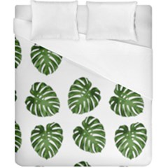 Leaf Pattern Seamless Background Duvet Cover (california King Size)