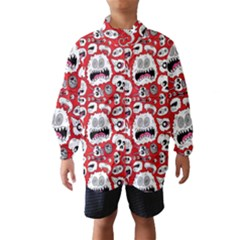 Another Monster Pattern Wind Breaker (kids)