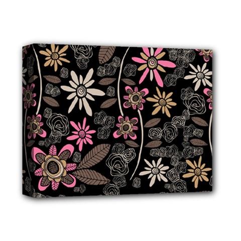 Flower Art Pattern Deluxe Canvas 14  X 11  by BangZart