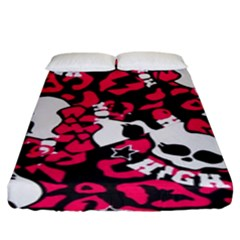 Mattel Monster Pattern Fitted Sheet (king Size)