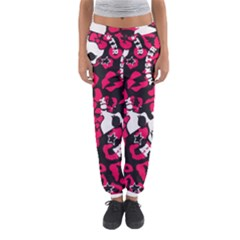 Mattel Monster Pattern Women s Jogger Sweatpants