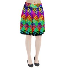 3d Fsm Tessellation Pattern Pleated Skirt