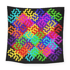 3d Fsm Tessellation Pattern Square Tapestry (large) by BangZart