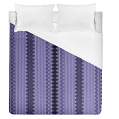 Zig Zag Repeat Pattern Duvet Cover (queen Size)