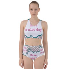 Have A Nice Day Bikini Swimsuit Spa Swimsuit