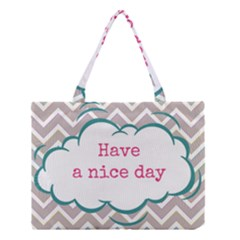 Have A Nice Day Medium Tote Bag by BangZart