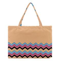 Chevrons Patterns Colorful Stripes Medium Tote Bag