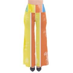 Floral Colorful Seasonal Banners Pants by BangZart