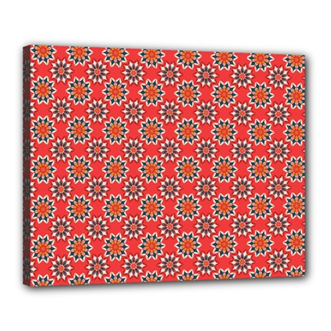 Floral Seamless Pattern Vector Canvas 20  X 16  by BangZart