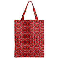 Floral Seamless Pattern Vector Zipper Classic Tote Bag by BangZart