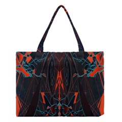 Doodle Art Pattern Background Medium Tote Bag