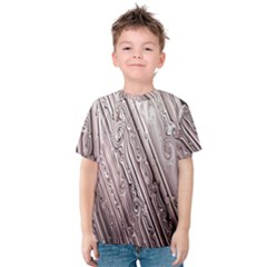 Vintage Pattern Background Wallpaper Kids  Cotton Tee