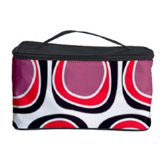 Wheel Stones Pink Pattern Abstract Background Cosmetic Storage Case by BangZart