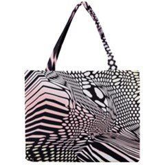 Abstract Fauna Pattern When Zebra And Giraffe Melt Together Mini Tote Bag by BangZart