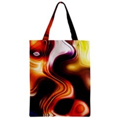 Colourful Abstract Background Design Zipper Classic Tote Bag