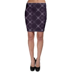 Abstract Seamless Pattern Background Bodycon Skirt