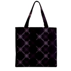 Abstract Seamless Pattern Background Zipper Grocery Tote Bag by BangZart