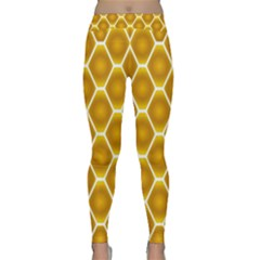 Snake Abstract Pattern Classic Yoga Leggings
