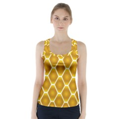 Snake Abstract Pattern Racer Back Sports Top