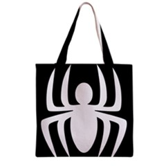 White Spider Grocery Tote Bag