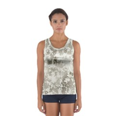 Wall Rock Pattern Structure Dirty Women s Sport Tank Top