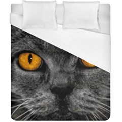 Cat Eyes Background Image Hypnosis Duvet Cover (california King Size) by BangZart