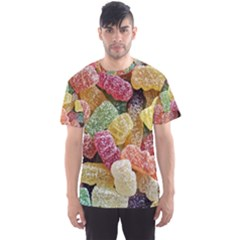 Jelly Beans Candy Sour Sweet Men s Sports Mesh Tee by BangZart