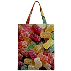 Jelly Beans Candy Sour Sweet Zipper Classic Tote Bag