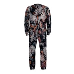Leaf Leaves Autumn Fall Brown Onepiece Jumpsuit (kids) by BangZart