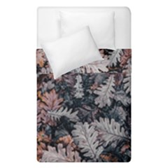 Leaf Leaves Autumn Fall Brown Duvet Cover Double Side (single Size)