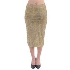 Abstract Forest Trees Age Aging Midi Pencil Skirt by BangZart