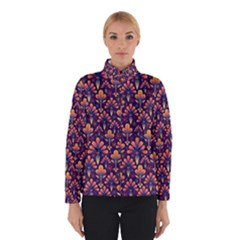 Abstract Background Floral Pattern Winterwear
