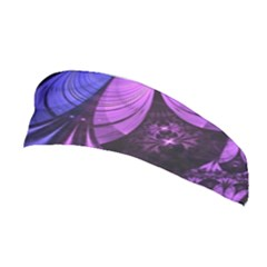 Beautiful Lilac Fractal Feathers Of The Starling Stretchable Headband by beautifulfractals