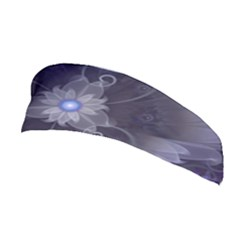 Amazing Fractal Triskelion Purple Passion Flower Stretchable Headband by beautifulfractals