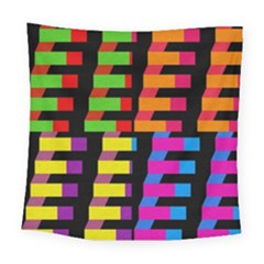 Colorful Rectangles And Squares                       Fleece Blanket by LalyLauraFLM