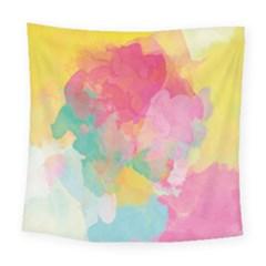 Pastel watercolors canvas                       Fleece Blanket