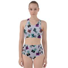 Old Cameras Pattern                       Bikini Swimsuit Spa Swimsuit