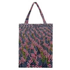 Repetition Retro Wallpaper Stripes Classic Tote Bag by BangZart
