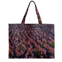 Repetition Retro Wallpaper Stripes Zipper Mini Tote Bag by BangZart