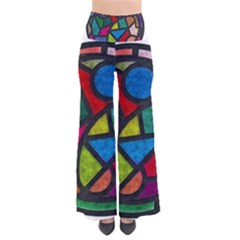 Stained Glass Color Texture Sacra Pants by BangZart