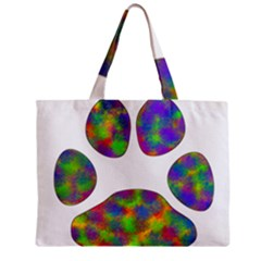 Paw Zipper Mini Tote Bag