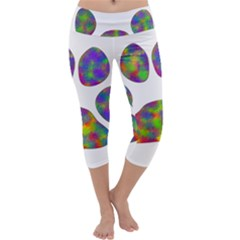Paw Capri Yoga Leggings