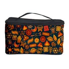 Pattern Background Ethnic Tribal Cosmetic Storage Case by BangZart