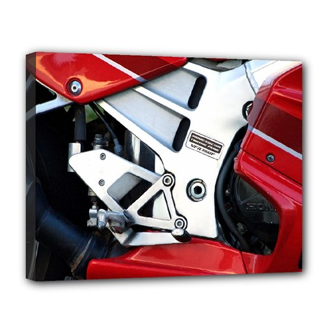 Footrests Motorcycle Page Canvas 14  X 11  by BangZart