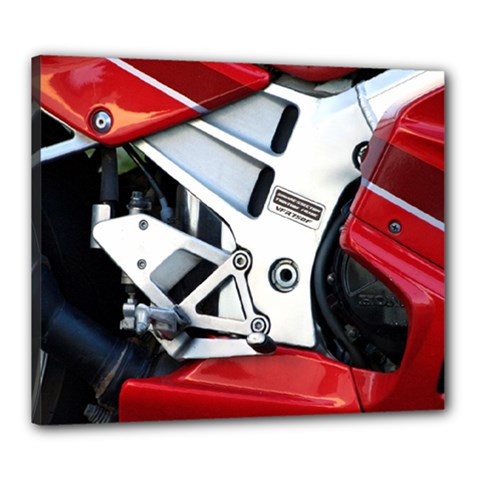 Footrests Motorcycle Page Canvas 24  X 20