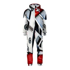 Footrests Motorcycle Page Hooded Jumpsuit (kids)