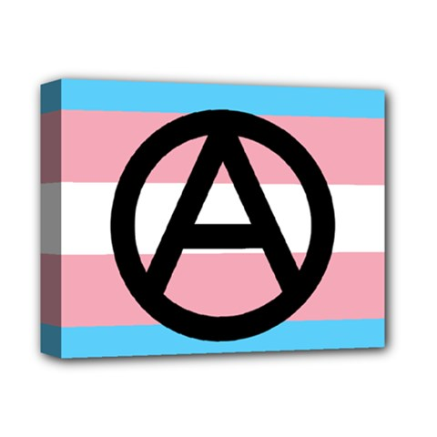 Anarchist Pride Deluxe Canvas 14  X 11  by TransPrints