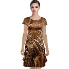 Ice Iced Structure Frozen Frost Cap Sleeve Nightdress